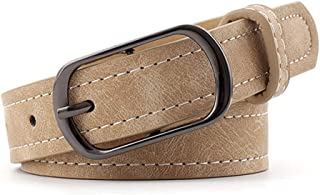 Ivyday PU Leather Belt for Women Waist Belt for Jeans with Alloy Buckle Wedding Party Dress Belt