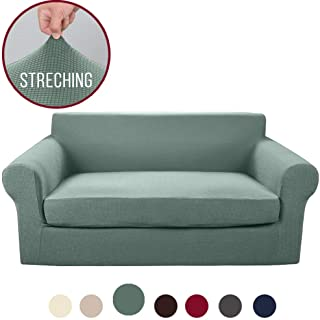 Miraculous Amazon Com Green Loveseat Slipcovers Slipcovers Home Dailytribune Chair Design For Home Dailytribuneorg