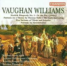 R. Vaughan Williams: Norfolk Rhapsody / In the Fen Country / Five Variants of