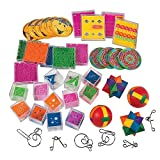 Fun Express Mind Teaser Game Assortment (50Pc) - 50 Pieces - Educational and Learning Activities for Kids