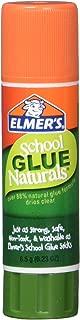 Elmer's Naturals School Glue Sticks, 0.23 Ounce, 30 Count