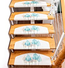 Staircase Carpet,1pc PVC Non-Slip Floor Staircase Carpets Stair Treads Children Safety Protector Mats Stair Sticker Floor ...