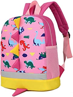 Wultia - Children Dinosaur Backpack School Backpack Baby Girl Boy Toys for Kindergarten Cartoon Animal Toddler Backpack Kids Gifts #G8 Pink