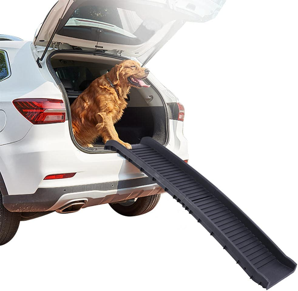 Folding Dog Our shop outlet OFFers the best service Ramps for Cars Non-Slip Stairs Large Pet Dogs Po