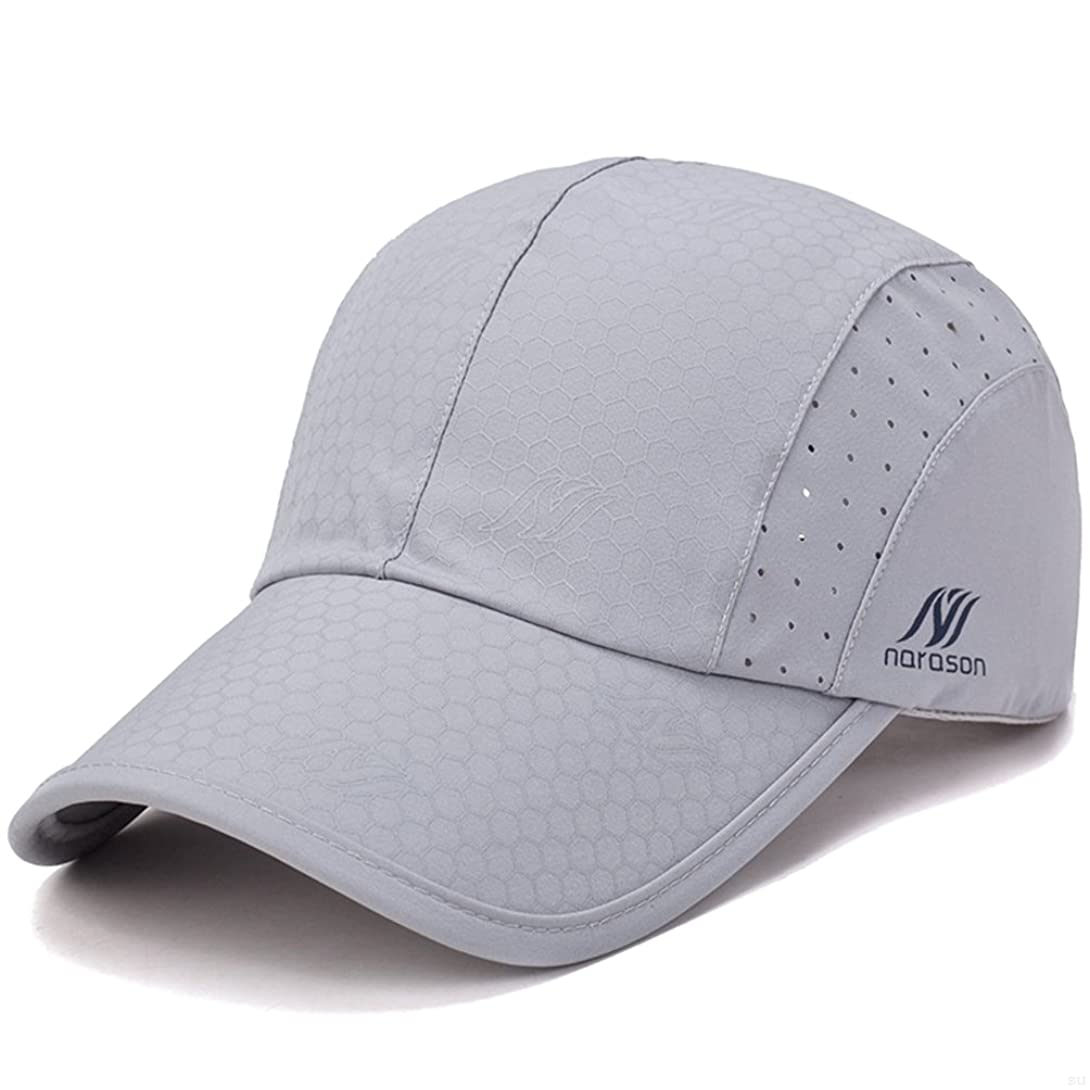 組み込むマングル凶暴なGADIEMENSS 運動 スポーツ帽子 野球 釣り 遠足 活動帽子 柔らかい 速乾性 通気性
