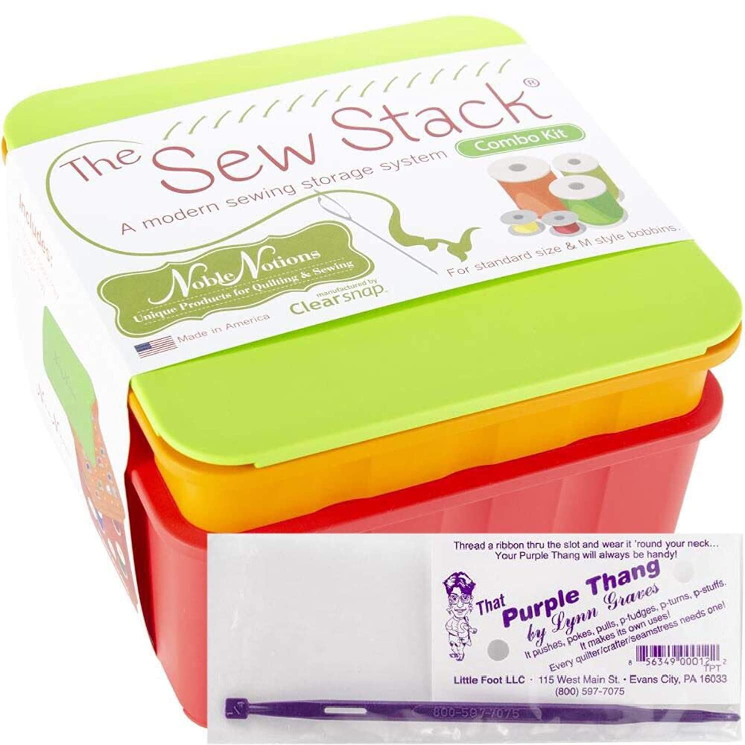 2 Item Bundle: Sew Stack Combo and That Purple Thang