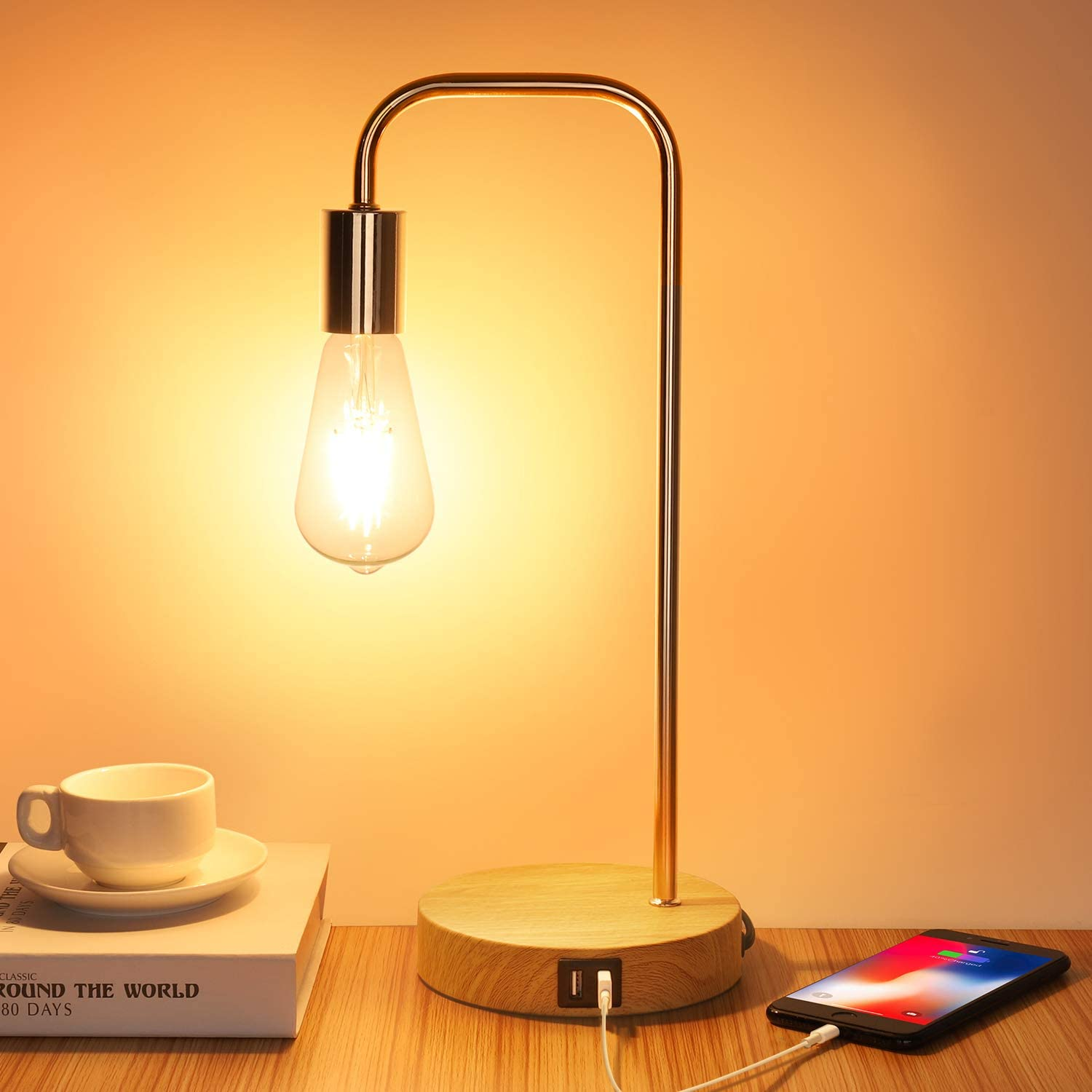 Touch Control LED Lamps 3-Way online shop Dimmable Table C USB 2 wholesale Lamp with
