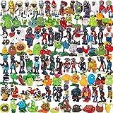 144Pcs / Set Cartoon Plants Vs Zombies PVZ Figure Toys, Un Conjunto Completo De Figuras De Juguete Sólidas Figuras De Acción De PVC Colección Modelo De Juguete (OPP Bag) 3-7Cm