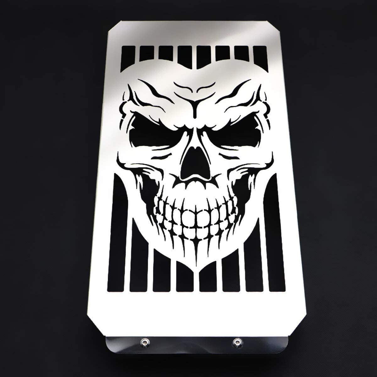 Motorcycle Free Shipping Cheap Phoenix Mall Bargain Gift Skull Radiator Cover Guard Grill Shrouds Grille Coole
