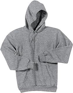 Joe's USA - Hoodies-Pullover Hooded Sweatshirt-Athletic.Heather-XL