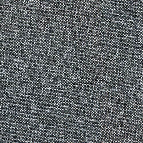 NOVELY® Oxford 330D | 1 lfm | Leinen Look Polyester PU wasserabweisend Mélange Polsterstoff (99 Dunkelgrau)