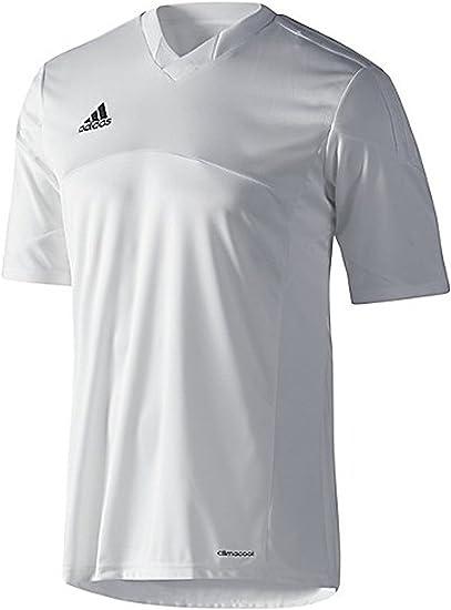 Amazon.com: Adidas Mens Climacool Tiro 13 Short Sleeve Jersey ...