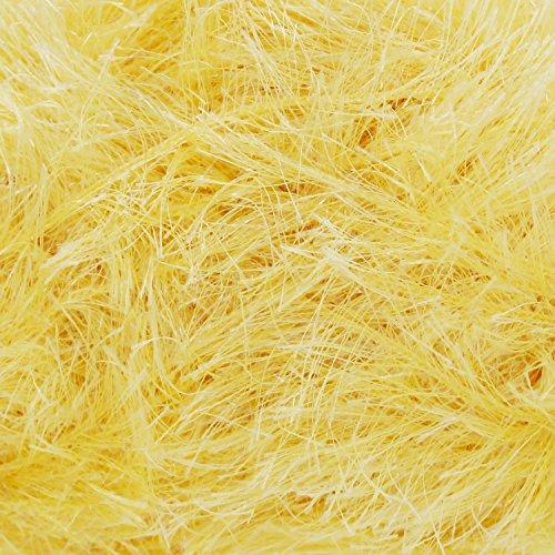 King Cole Tinsel Chunky Knitting Yarn Festive Wool 50 Gram Ball (Easter Yellow - 3064)