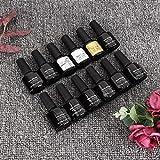 Kit de esmalte de uñas para remojo de gel UV, juego de manicura de uñas, práctico para la familia, para mujeres, niñas, para amantes del arte de uñas(SZ01162zh)