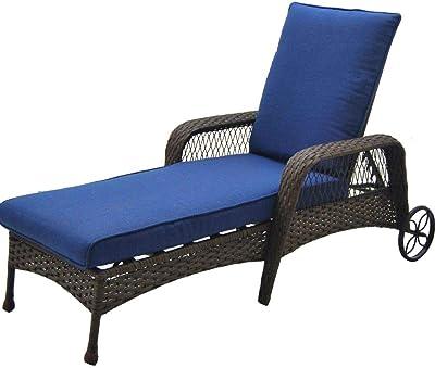 Strange Amazon Com Sundale Outdoor Deluxe Wicker Adirondack Chair Creativecarmelina Interior Chair Design Creativecarmelinacom