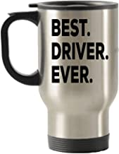 Driver Gifts - Best Driver Travel Mug -Travel Insulated Tumblers - Can Be Funny Gag Gift or Drivers Permit Gifts - For Bus Truck New Bad Drivers CDL Tow Semi Race Car School Student Taxi Ambulance