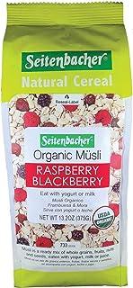 Sponsored Ad - Seitenbacher Organic Muesli Raspberry Blackberry Natural Cereal, 13.2 Ounce