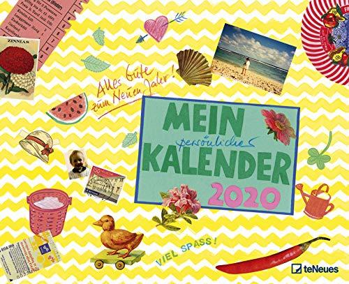 Gabi Kohwagner Mein persönlicher Kalender 2020 - Broschürenkalender - Wandkalender - Kunstkalender - 30x30cm - Terminkalender