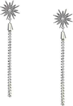 Starburst Linear Earrings