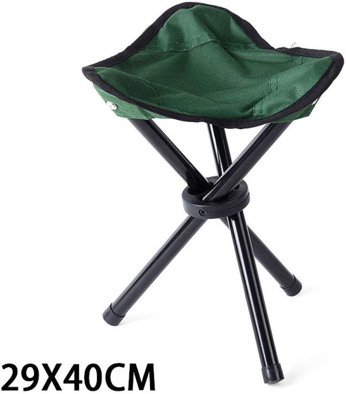 LFJXBF Portable Folding Chair Camping Foldable Stool Tripod Seat for Fishing Picnic Beach Seat Ultralight Outdoor Camp