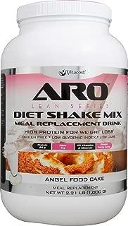 ARO-Vitacost Lean Series Diet Shake Mix Angel Food Cake -- 2.21 lbs (1000 g)