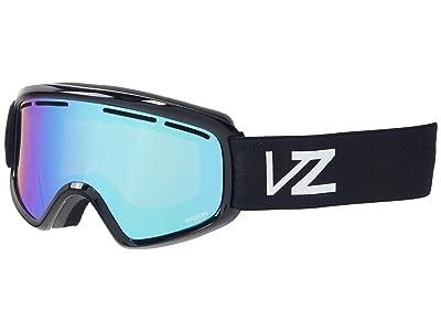 VonZipper Trike (Black Gloss/Wildlife Stellar Chrome) Goggles