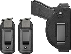 TACwolf 3 Pack Gun Holster Magazine Pouch Right Left IWB OWB for Hand Inside Concealed..
