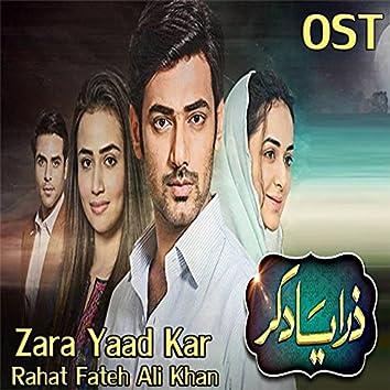 """Zara Yaad Kar (From """"Zara Yaad Kar"""")"""