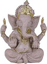 Sculptures Statues Nature Sandstone Indian Ganesha Figurine Religious Hindu Elephant God Statues Fengshui Elephant-Headed ...