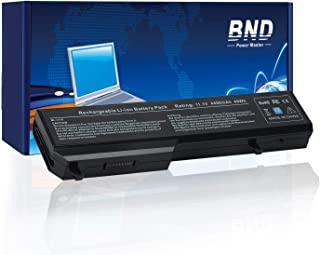 BND Laptop Battery for Dell Vostro 1520 1510 2510 1310 1320, fits P/N T116C T114C 312-0922 N956C K738H - 12 Months Warranty [4400mAh/49Wh 6-Cell]