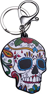 Amosfun portachiavi scheletro portachiavi teschio acrilico teschio ciondoli per borsa fascino borsa regalo telefono regalo...