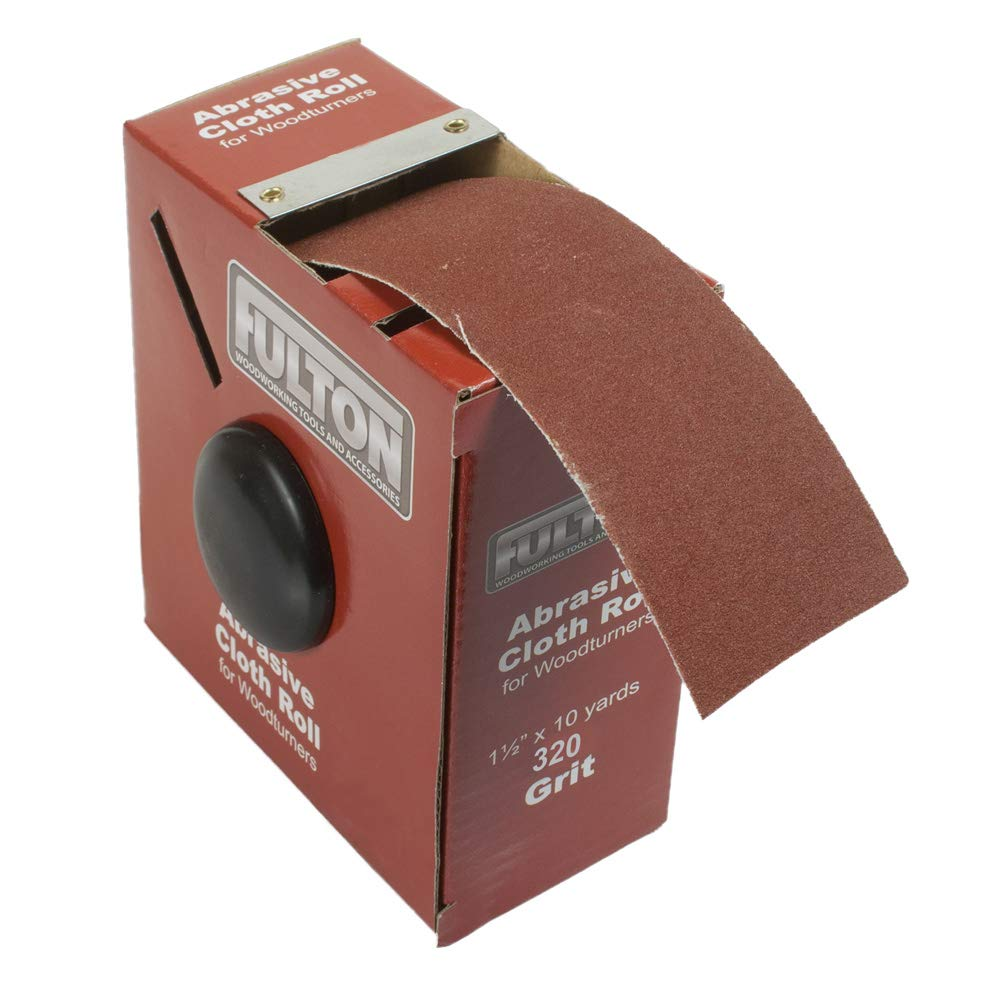 "22262 H21 New Skilcraft Abrasive Jean Sanding Cloth 100 Grit Roll 1/"" x 50yd"