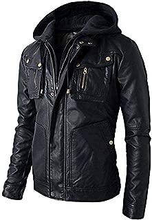 brandMe Mens Genuine Leather Pure Lambskin Biker Jacket MM485