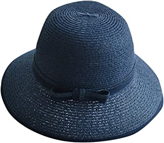 Hats Cap Women Ladies Summer Wide Brim Straw Hat Floppy Derby Beach Sun Foldable Cap Lot
