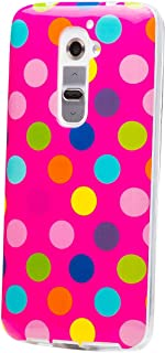 iCues Case Compatible with Nokia Lumia 930   Polka Dot Pink/Multi-Coloured   [Screen Protector Included] Durable Fashion S...