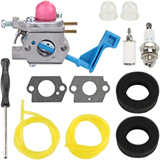 Trustsheer C1U-W13A Carburetor + Tune Up Kit for Poulan Weed Eater GHT17 GHT22 GHT220 GHT220LE GHT180 GHT180LE GHT195LE DAHT22 25HHT (HHT25) Hedge Trimmer 530071633