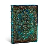Paperblanks Notizbuch mit Lesebändchen & Innentasche | Azurblau | Midi (170 x 120 mm) | 176 Seiten | Liniert