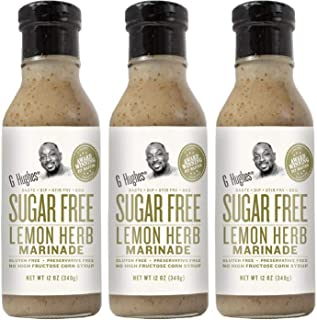 G Hughes Sugar Free Lemon Herb Marinade 13 oz (3 Pack)