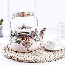 Kookplaat waterkokers Retro stijl melk theepot, glazuur theepot, gasfornuis, gaswaterkoker, binnenlandse warmwaterfles, gr...