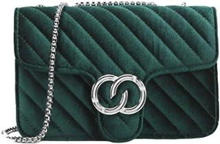 Rare Fig Damen Umhängetasche Kettenriemen Umhängetasche Für Reisen Arbeit Dating oder Täglicher Gebrauch (Grün)