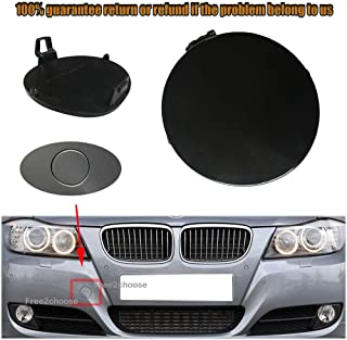 Rear Tow Eye Cover Compatible with BMW 5-SERIES 2004-2010 Primed ...