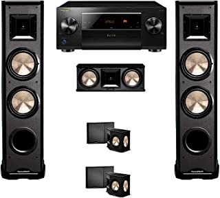 BIC Acoustech 5.0 Home Theater System with Pioneer Elite SC-LX701 9.2 and PL-89 Towers