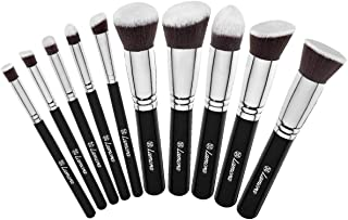 Make Up Brush Foundation Kabuki Set - Face and Eye Makeup -