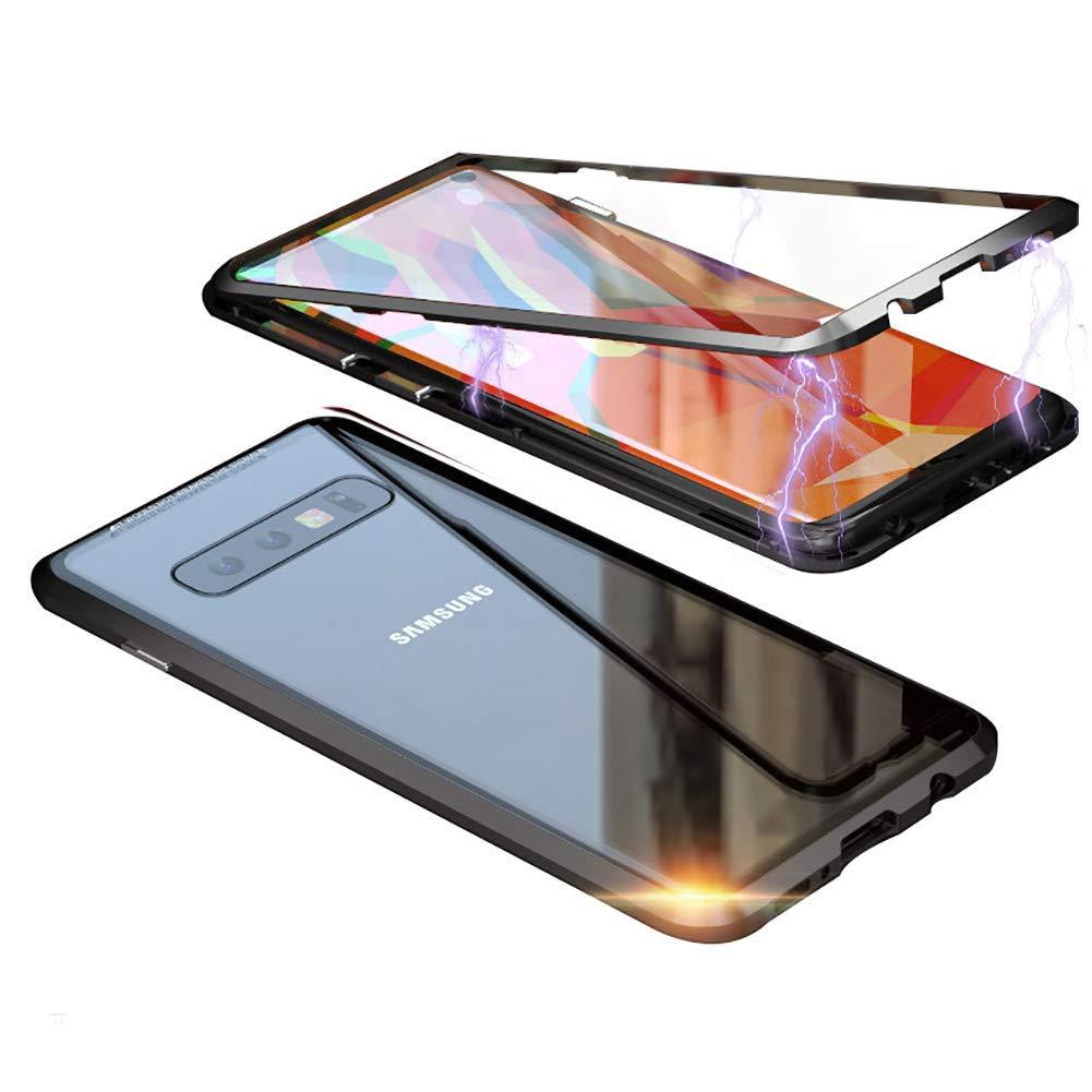 Funda Adsorcion Magnetica Samsung S10 Plus Negra Hontec Xsr