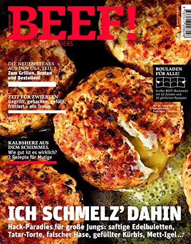 BEEF! Nr. 49 (1/2019): Männer kochen anders