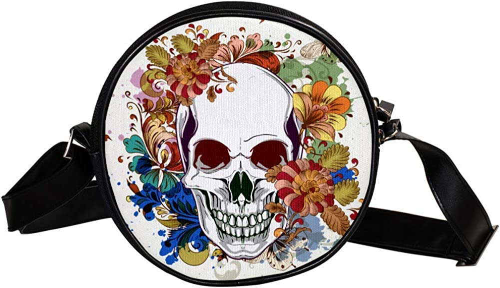 Coin Ranking integrated 1st place Purse Recommendation For Kids Watercolor Crossbody Skull Flowers Mini And
