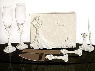 Calla Lily Design Complete Wedding Accessory Set