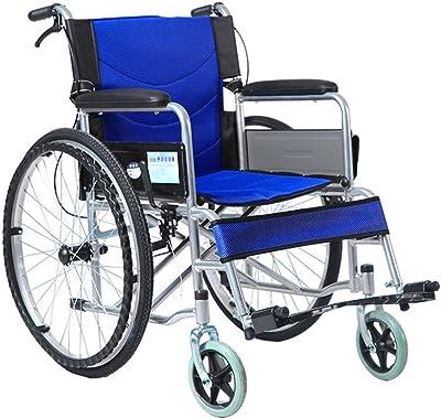 Amazon.com: YX Xuan Yuan Silla de ruedas, aleación de ...
