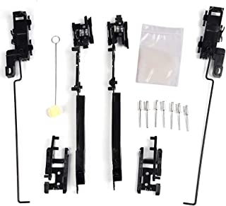 Sunroof Track Assembly Repair Kit For 2000-2014 Ford F150 F250 F350 F450 Expedition / 2002-2008 Jeep Liberty / 2000-2002 Lincoln LS /01-08 Chrysler PT Cruiser / 08-14 Chevy Traverse GMC Acadia