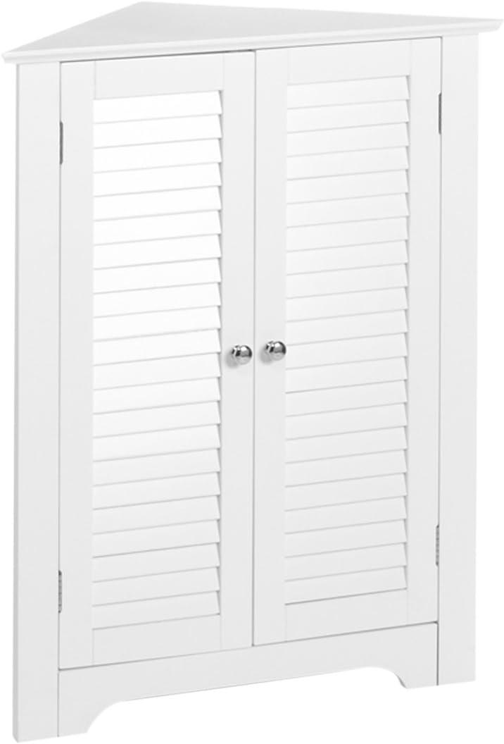 RiverRidge 3-Shelf New life Corner Cabinet White Gifts